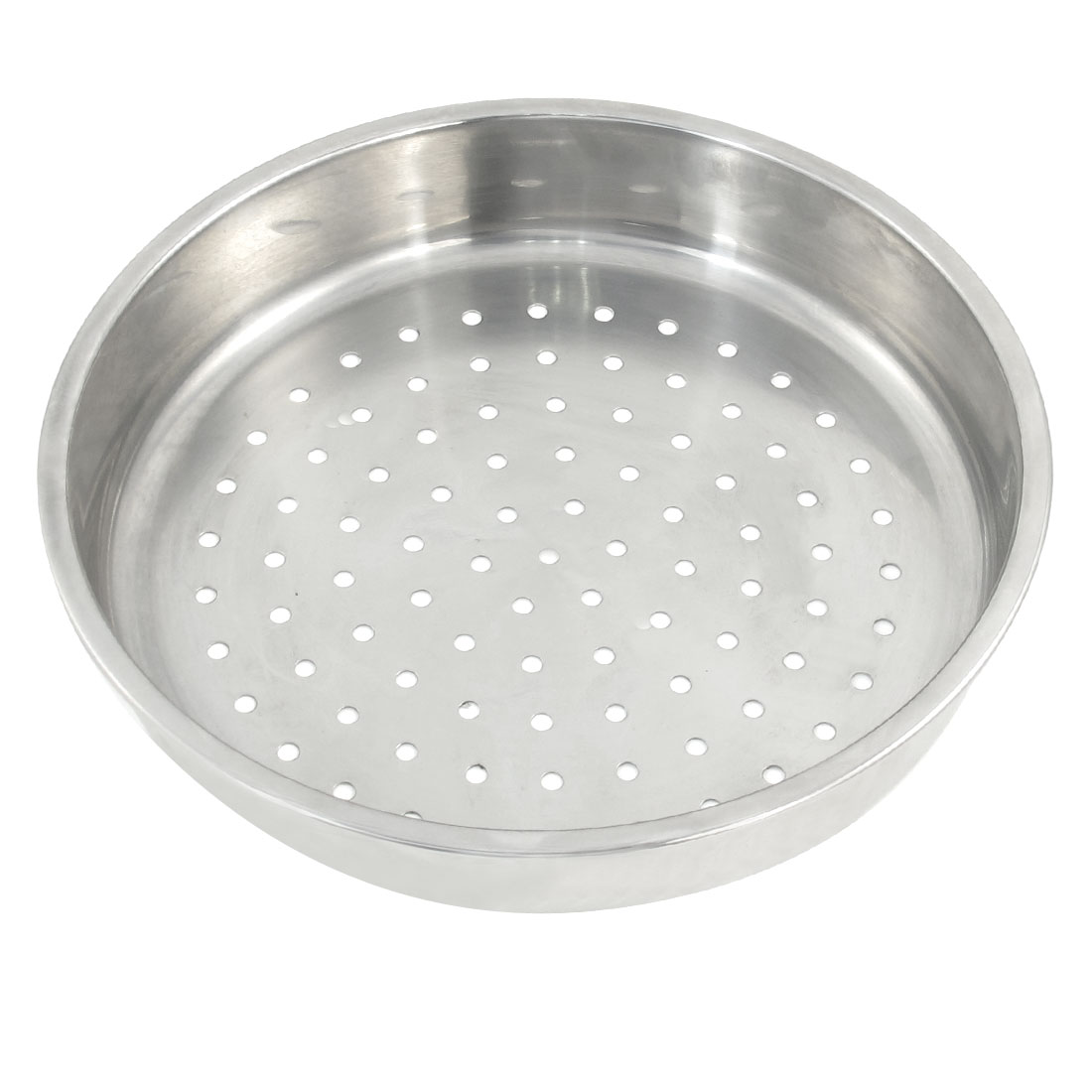 "Household 9.5"" Dia Stainless Steel Perforated Food Steaming Steamer Rack"