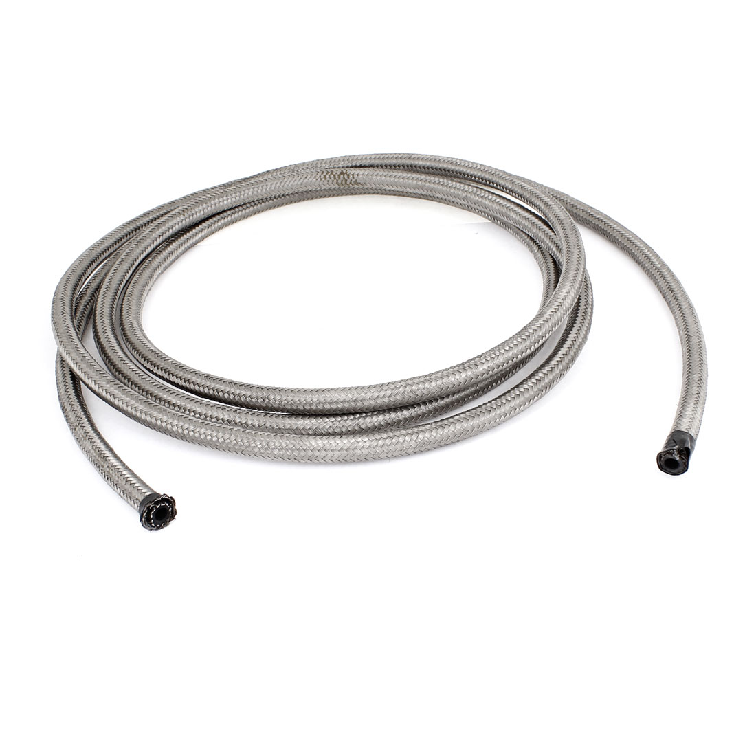 10Ft -4 AN 1200 PSI Stainless Steel Oil Fuel Line Cooler Tubing Hose for Car