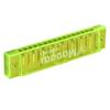 Clear Green 32 Holes Mouth Organ Harmonica w Box
