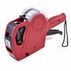 Red Plastic 2 Line 8 Character Price Marking Gun Labeler