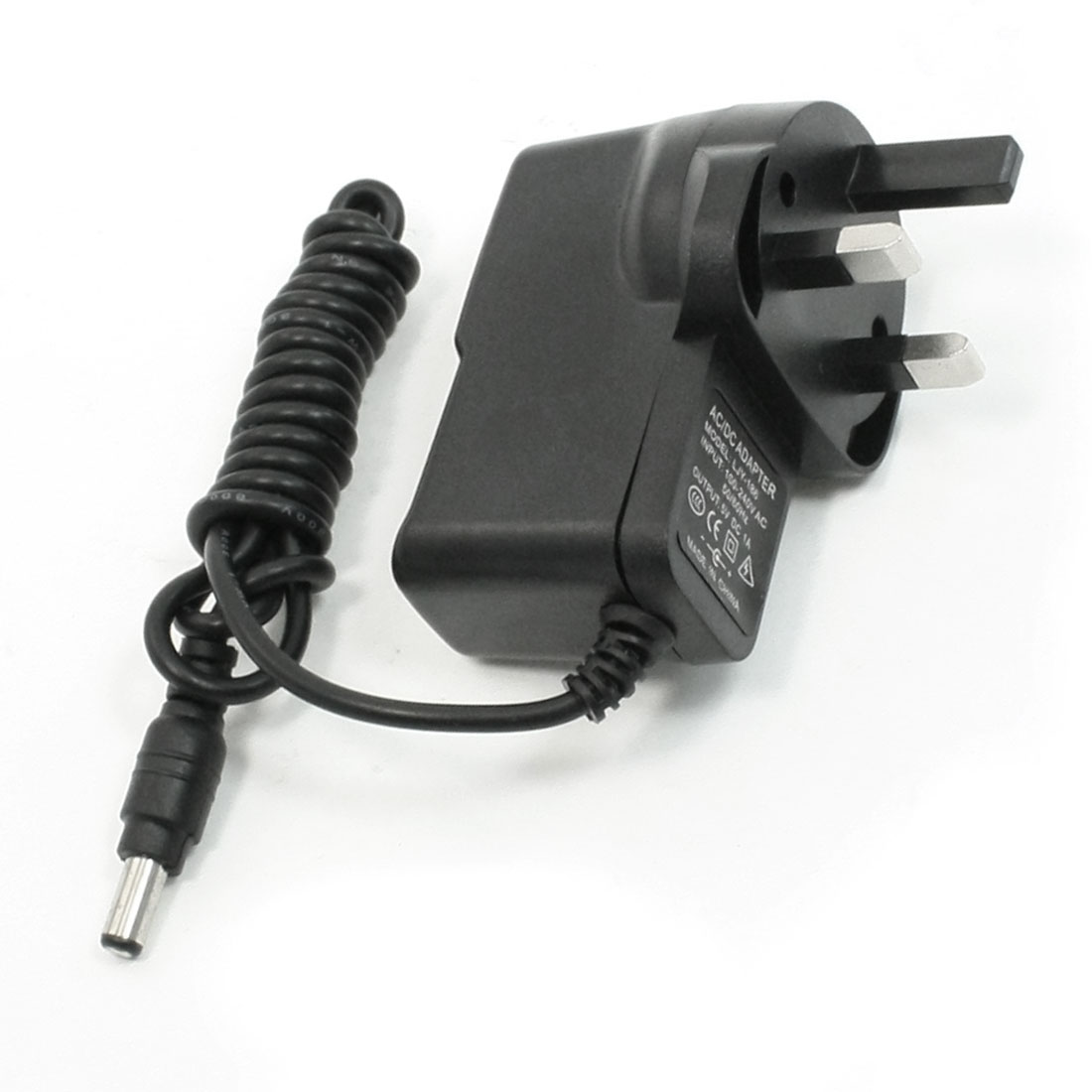 3Pin UK Plug AC 100/240V 50/60Hz to DC 5V 1A Wall Power Adapter