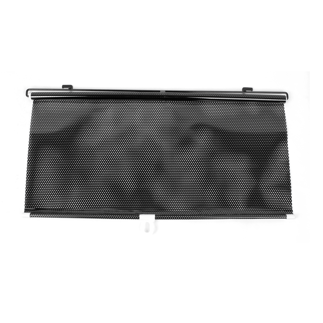 Auto Car Retractable Roll Blind Side Window Sun Shade Black 130cm x 58cm