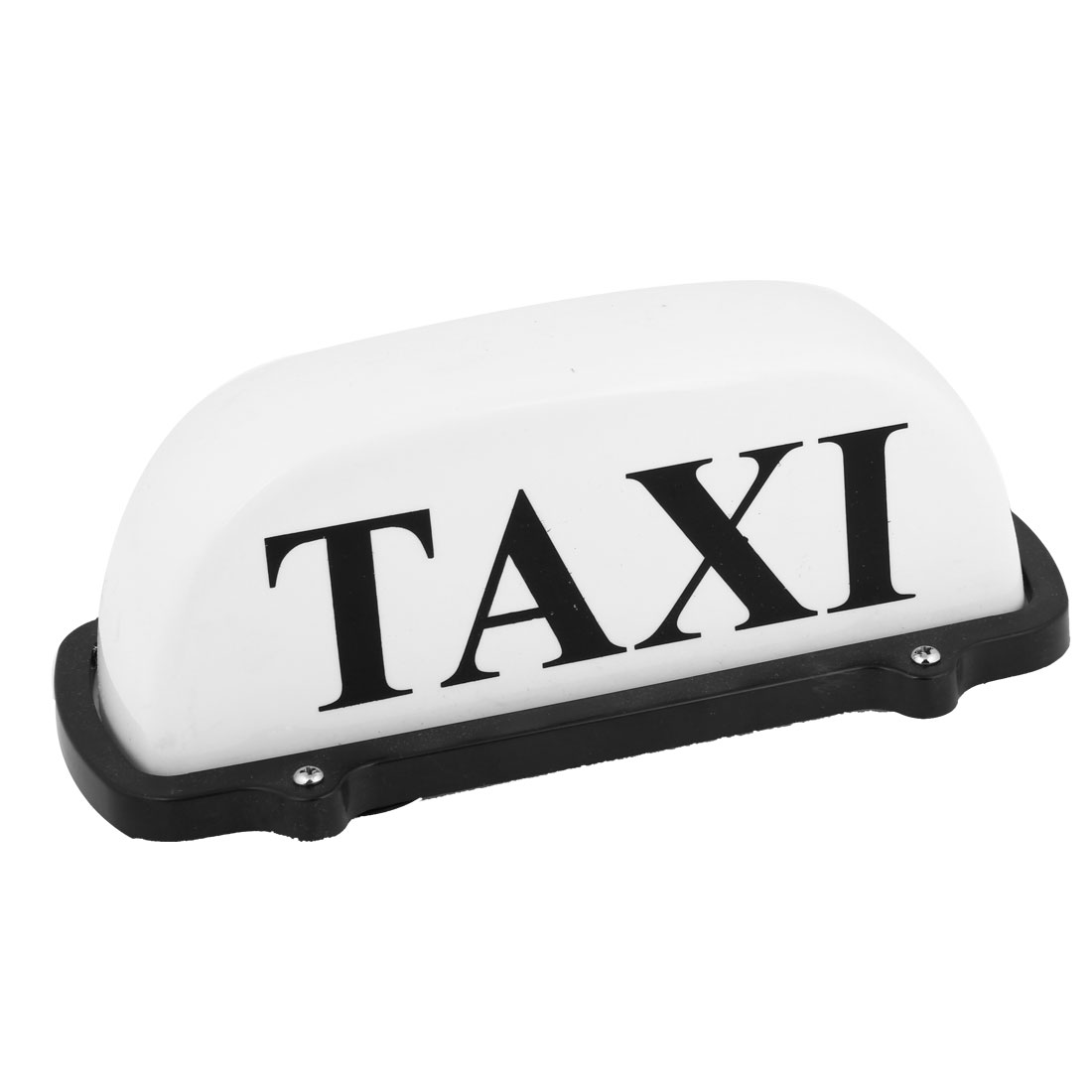 Plastic Shell Magnetic Base White Lights Taxi Cab Sign Lamp DC 12V