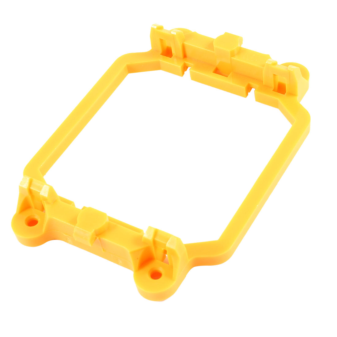 PC Computer Fan Retainer Bracket Stand Yellow for AMD AM2 AM3 Socket