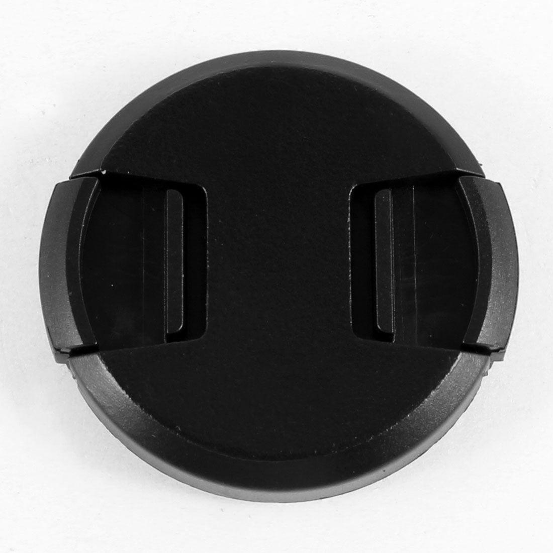 40.5mm Plastic Clip On Front Lens Cap Cover Black for Digital Camera