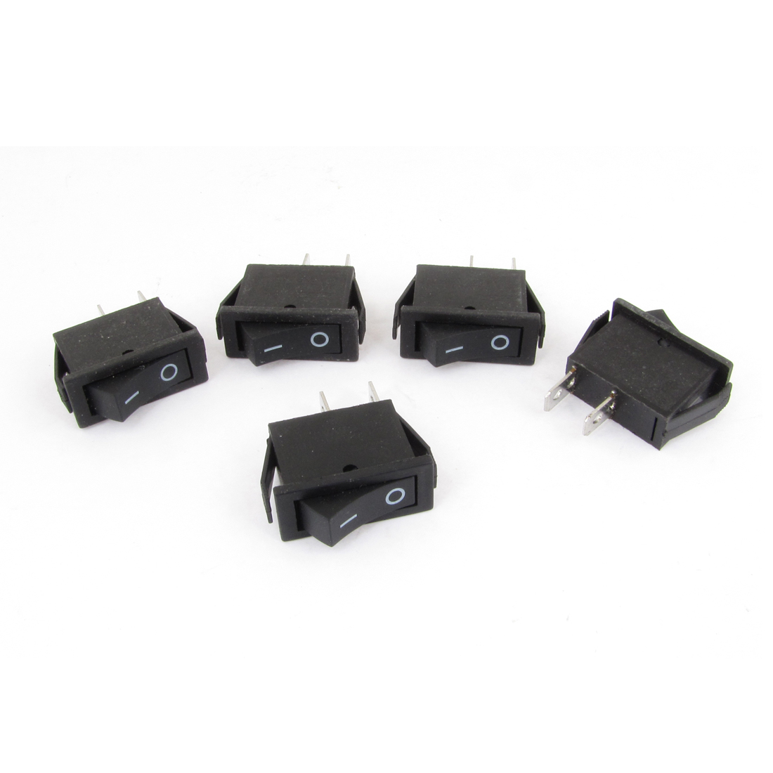 5PCS AC250V 16A/125V 20A On-Off Type Rocker Switch for Car