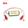 20A 2-RCA Male to Female Connector Car Audio Stereo Noise Filter