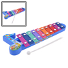 Colorful 10 Tone Beat Percussion Xylophone Toy for