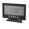 Black Mini Television Design LCD Display Digital Date Thermometer Alarm Clock