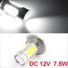 Auto Car H7 7.5W Projector Lens LED Fog Light Headlamp Bulb White