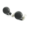 2pcs Vehicle Car 41mm Diameter Plastic Lound Dome Tweeter Black 150W