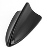 15.7cm Black Plastic Shark Fin Shaped Decorative Antenna for Auto