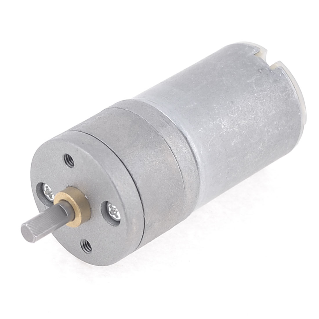 12V 1500RPM 4mm Shaft Dia Synchronous Reduction DC Gearbox Geared Motor