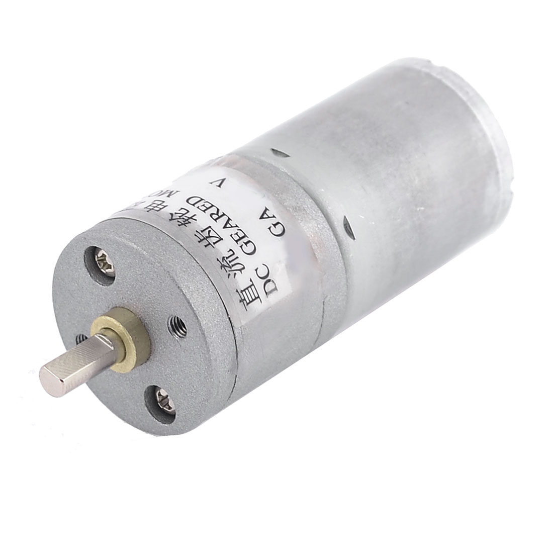 12V 120RPM Permanent Magnetism High Torque DC Gearbox Geared Motor