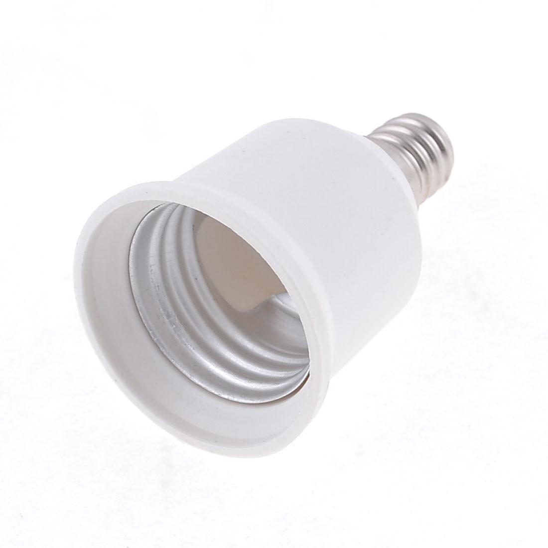E27 to E14 Base LED Halogen Light Lamp Bulb Socket Adapter Holder