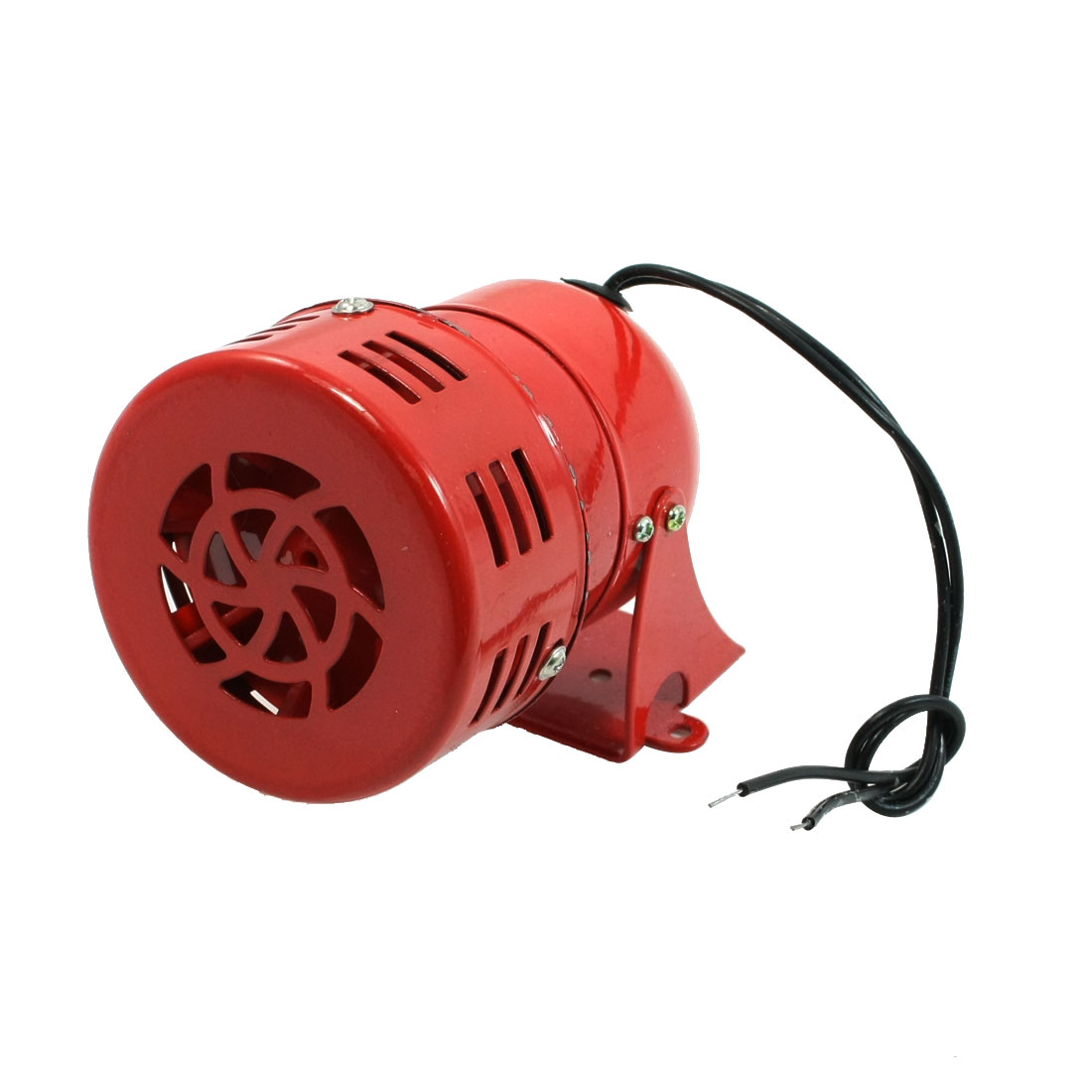 MS-190 AC 220V Red Metal Housing Motor Driven Siren for Security System