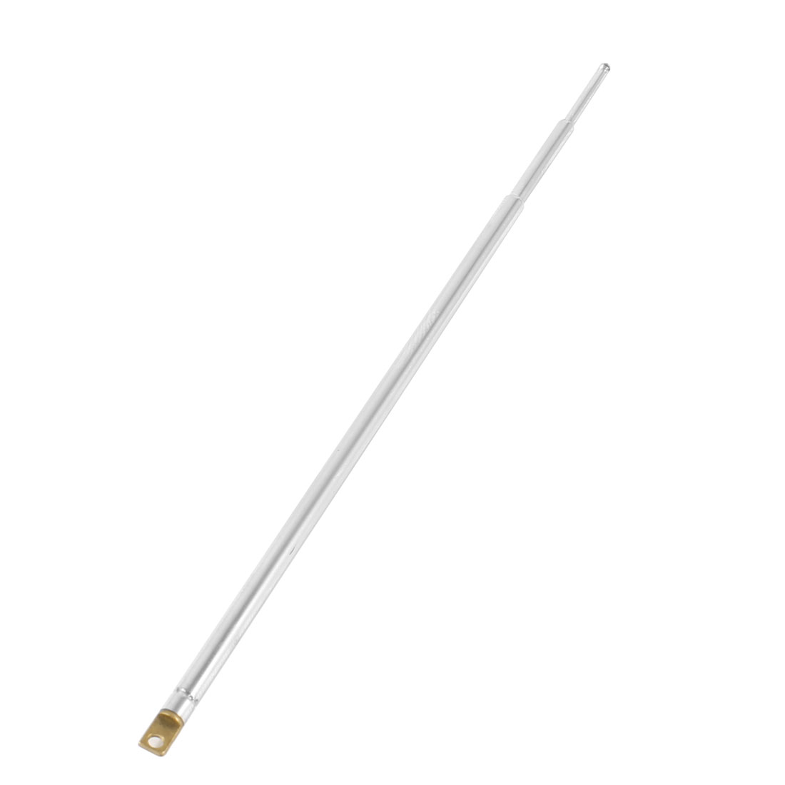 22.5cm Silver Tone 3 Sections Telescoping Antenna Aerial for Car Radio TV