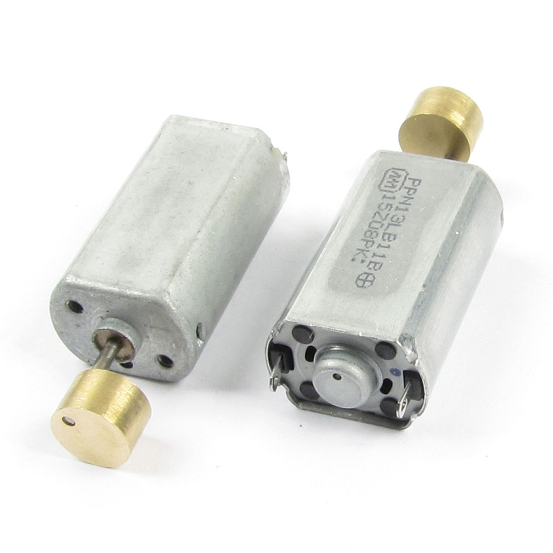 DC 12V 16000RPM 2 Terminals Electric Vibration Motor 2pcs