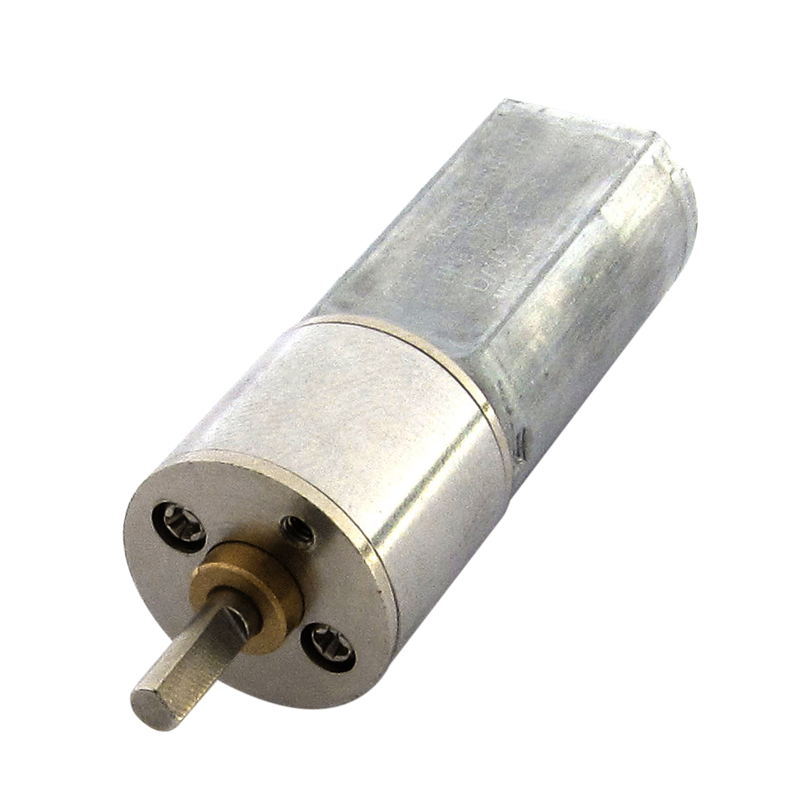 12V 300RPM 3mm Shaft 16mm Diameter DC Geared Motor w Reduction Gearbox