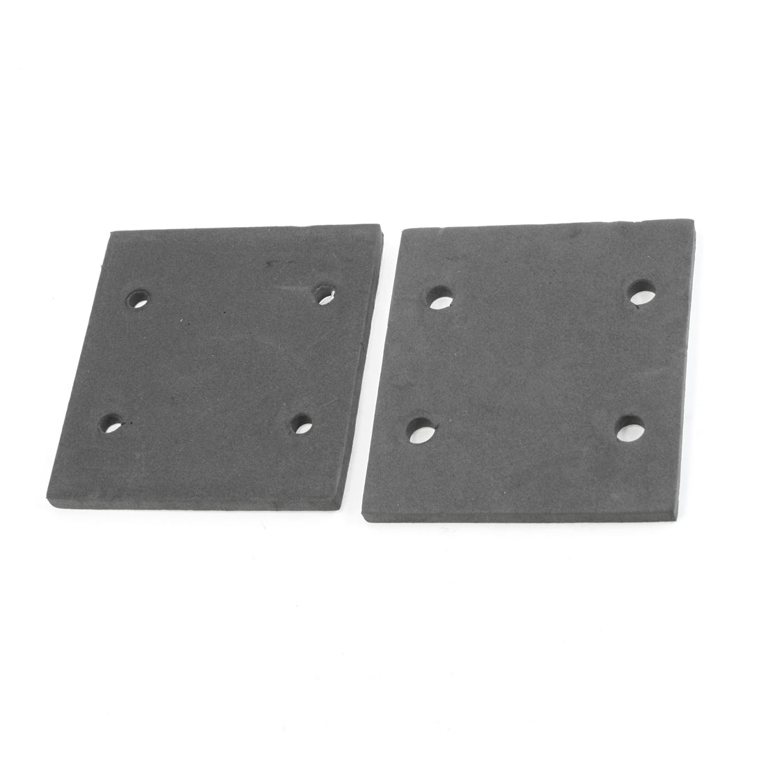 2 Pcs Rectangle Foam Replacement Back Pad for Makita 4510 Sander Machine