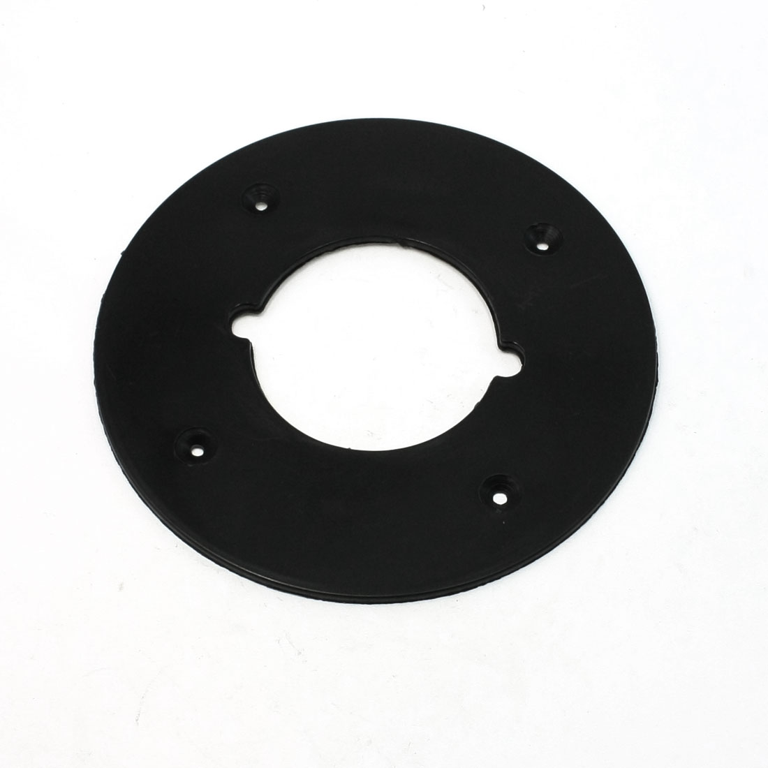 Black Circle Shape Electric Router Plastic Base for Makita 3612