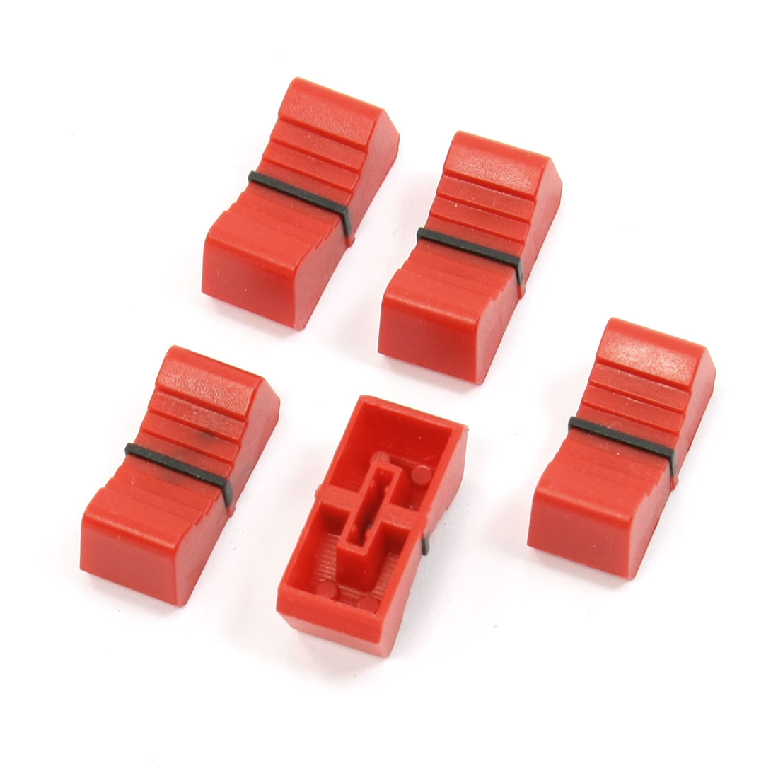 5pcs 8.5mmx2mm Push Fit Standard Fader Knobs for Mixed Slider