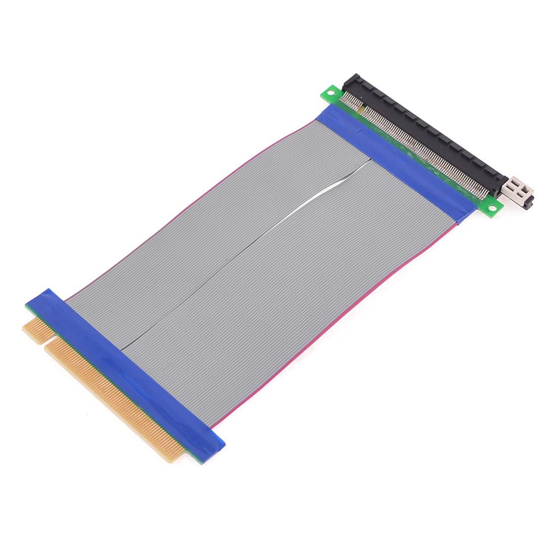 PCI-E 16X Riser Card Flexible Extender Extension Flex Cable for Laptop PC