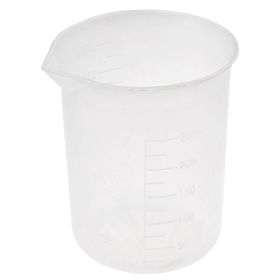 Home Clear White Plastic Ingredients Water Sauce Liquid Measuring Cup 300ml