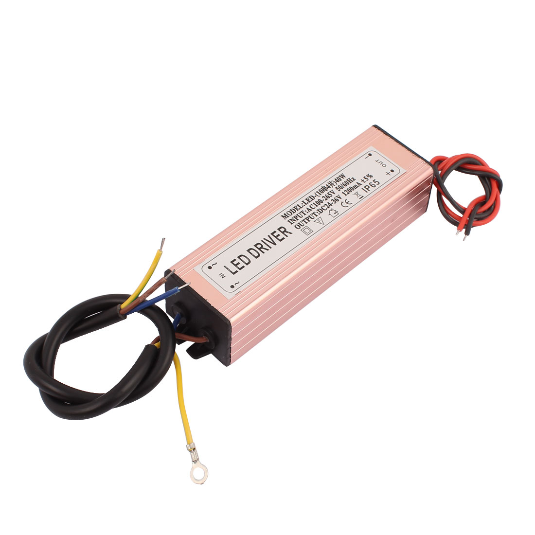 DC 24-36V Output 1200mA LED Driver Power Supply for 40W LED Strip Light