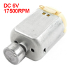 17500RPM 6V 2 Terminals Magnet Vibration DC Motor