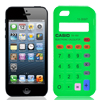 Calculator Pattern Smartphone Cover Case Protector Green for iPhone 5G