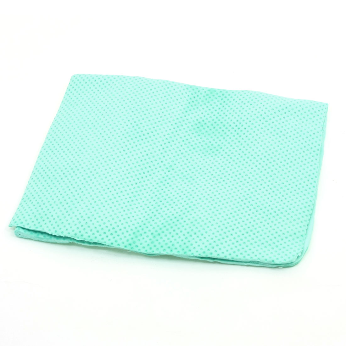 43cm x 32cm Car Clean Cham Synthetic Chamois Cleaning Towel Green