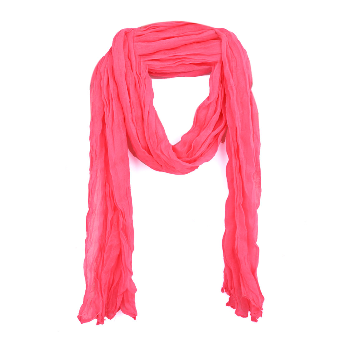 Womens Accessories  Fashion Scarves  Women Ruched Detail Neck Cheap Neck Scarves For Women