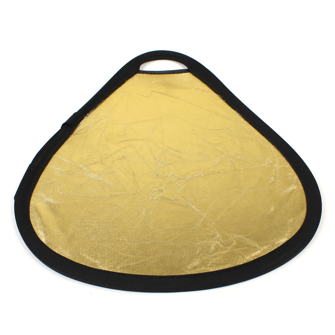Studio Photography Handheld Triangle Silver/Gold 2 in 1 Light Reflector 30cm