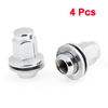 4PCS 18mm Female Thread 25mm Hex Width Tyre Tire Wheel Lug Nut Screw for Toyota