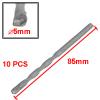 10pcs 5mm Width Tip U-flute Masonry Drill Bits for Hammering