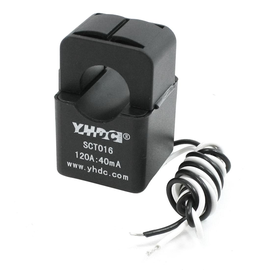 16mm Hole Diameter Split-core Current Transformer 0.01-120A SCT-016