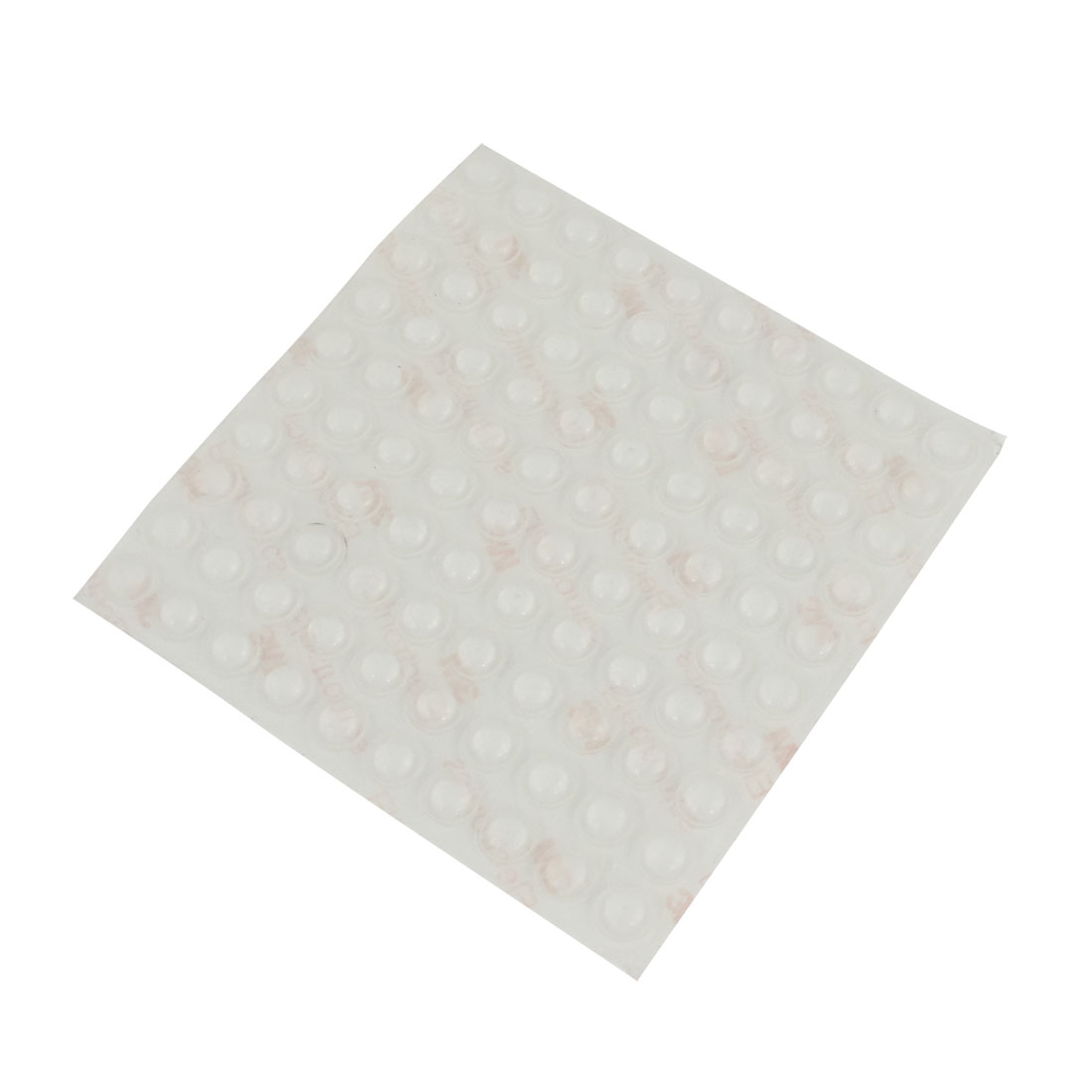 Home Table Floor Mat Cover Adhesive 8mm x 2.5mm Mini Rubber Pads Clear