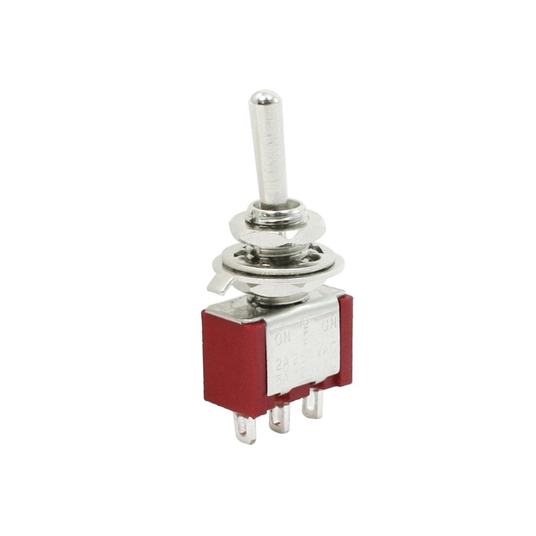 AC 250V/2A 120V/5A SPCO 3 Position ON/Off/ON Toggle Switch
