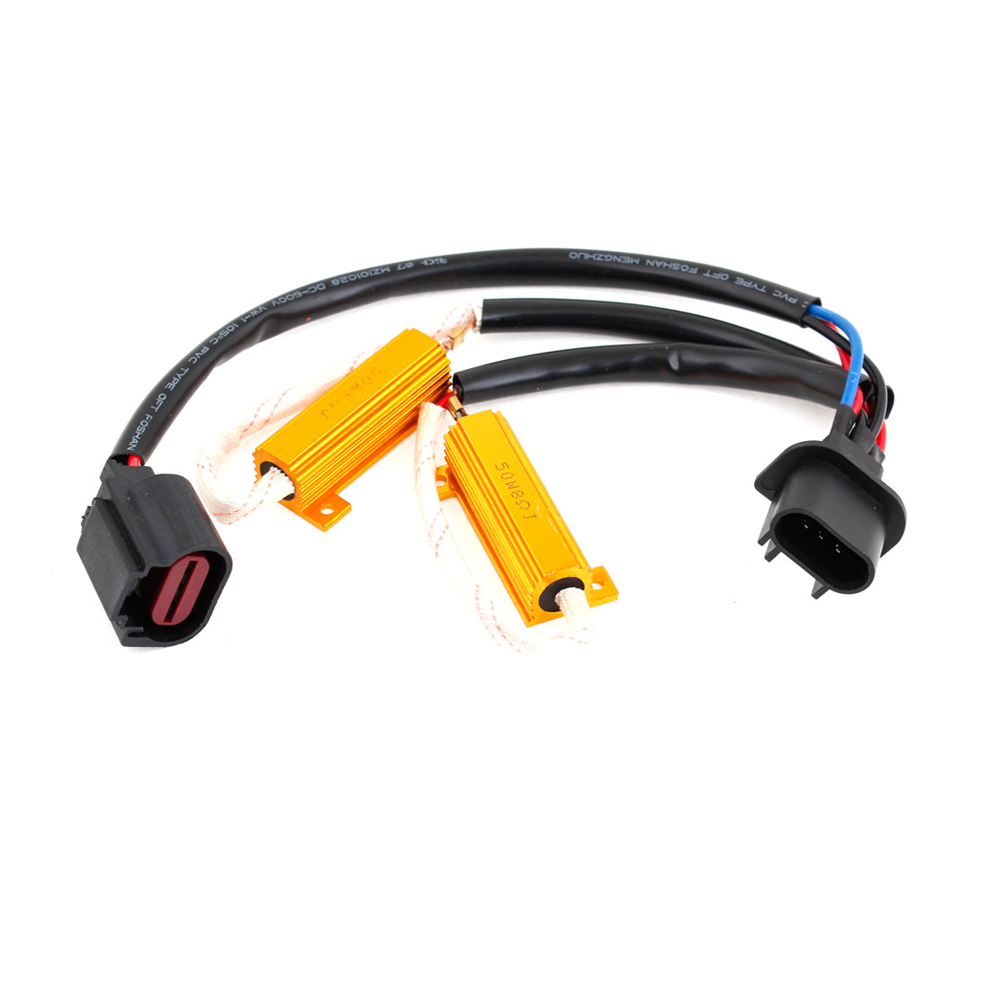 H13 Xenon HID Kit Anti Flicker Decoder Error Free Load Resistor Capacitor