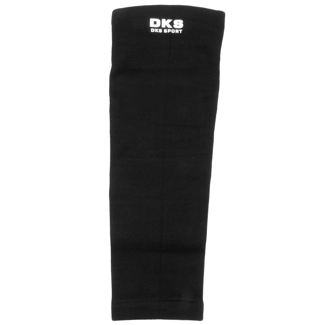 39cm Long Athletic Black Pinstripe Stretch Knee Support Brace Protector