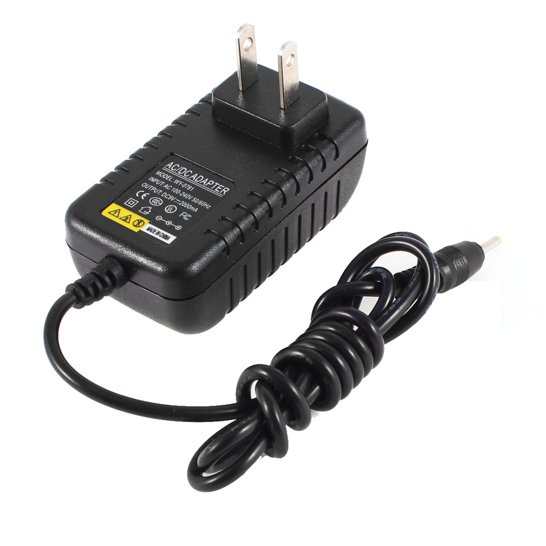 US Plug AC 100-240V DC 9V 2A 2.5mm Jack Power Charger Adapter for Tablet PC