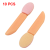 10 Pcs Makeup Cosmetic Tool Sponge Eye Shadow Eyeliner Brush Pink Apricot