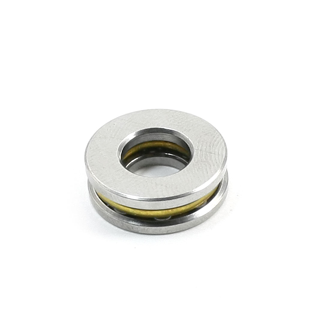Spare Parts 15mm x 7mm x 5mm Silver Tone Ball Thrust Bearing