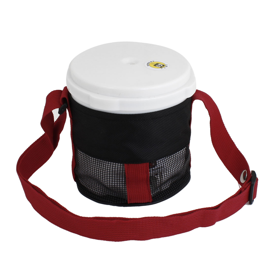 White Portable Electric Heating Lunch Box Rice Dinner Bucket for Auto