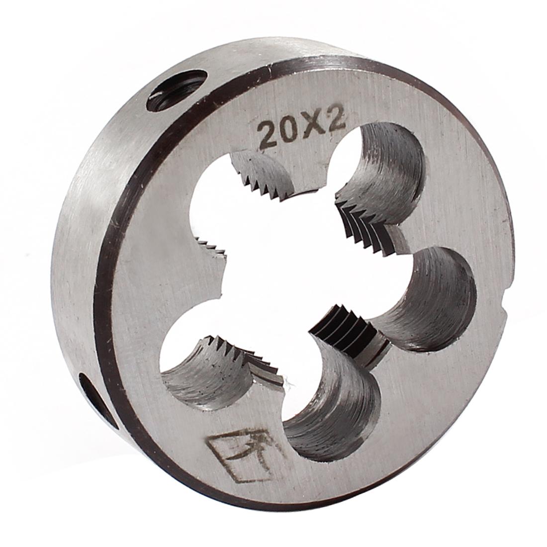 M20 45mm Outside Diameter Hand Machine Circular Screwing Die Gray
