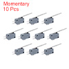 10pcs G5T16-E1Z200A03 SPDT 1NO 1NC Long Straight Hinge Lever Momentary Actuator Micro Switch