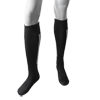 Pair White Stripe Black Elastic Football Socks Stockings for Children