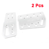 2 Pcs Silver Tone Metal Auto Car Nonslip Brake Gas Pedal Cover