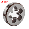 Round Shape 38mm x 10mm G1/4 Coarse Threading Cutting Cut Die Gray